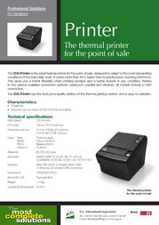 ICG TK-210E Leaflet