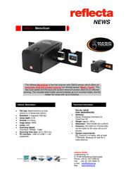 Reflecta MemoScan 64230 Leaflet