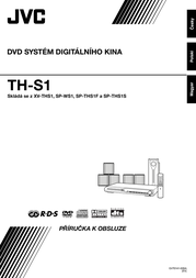 JVC DVD Digital Cinema System  TH-S1 THS1 User Manual