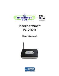 Addlogix IV-2020 User Manual