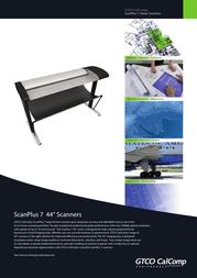 GTCO CalComp atf1824c Brochure