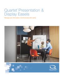 Quartet Presentation & Display Easels 300TE 3640TE User Manual