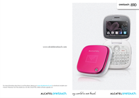 Alcatel One Touch 810 OT-810PINK User Manual