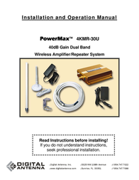 PowerMax Power Max 4KMR-30U User Manual