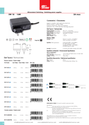 Alpha Elettronica SW18-05-60 Leaflet