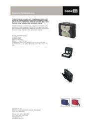 basexx Supreme Notebookcase N14538P Leaflet