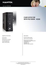 Hantol HCD21BK Leaflet