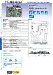 Lexcom 3V700A-1R50E Leaflet