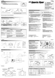 Silverlit Model aeroplane with remote control (85650) 85650 Data Sheet