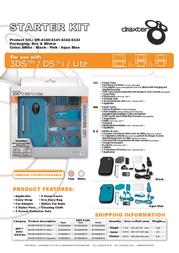 Draxter DR-4341 Leaflet