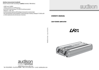 Audison LRX 4.300 User Manual