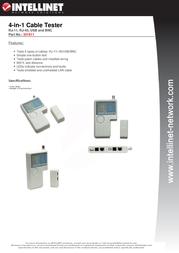 Intellinet 351911 Leaflet