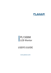 Planar PL1500M User Manual