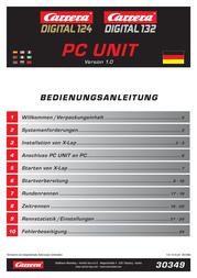 Carrera PC-Unit 30349 Data Sheet
