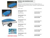 Secoruet Luggage and universal tarpaulin 3 x 4 m 10521 Data Sheet