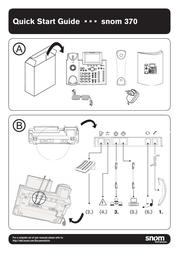 Snom 370 Quick Setup Guide