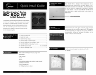 Velodyne sc-600 Installation Instruction