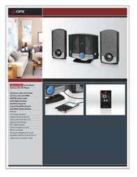 GPX HM3817DTBLK HM-3817DTBLK Leaflet