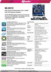 Giada MI-H61C Leaflet