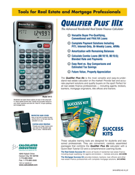 Calculated Industries Qualifier Plus IIIx 3415 Leaflet