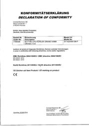 Scythe Grand Kama Cross 2 SCKC-3000 Data Sheet