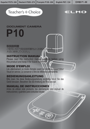 Elmo P10 User Manual