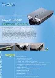 VIVOTEK Mega-Pixel WLAN Network Camera IP7139 IP7139 Leaflet