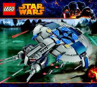 Lego Starwars LEGO STAR WARS 75042 DROID GUNSHIP 75042 Data Sheet