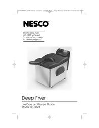 Nesco DF-1250T User Manual