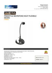 Omega FHM060 Leaflet