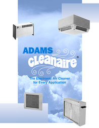 Adams Cleanaire User Manual