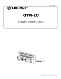 Aiphone GTW-LC User Manual