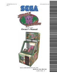 SEGA 999-1763 User Manual