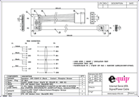 Equip SATA power supply cable 112054 Leaflet