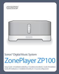 Sonos ZonePlayer ZP100 User Manual