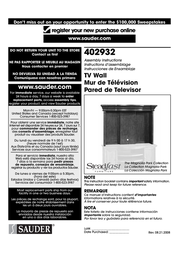Sauder STEADFAST 402932 User Manual