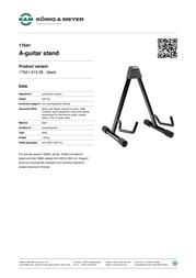K&M 17541 17541-013-55 Leaflet