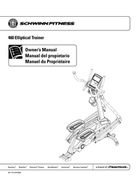 Schwinn 460 User Manual