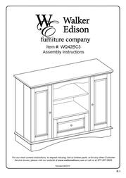 Walker WQ42BC3BL User Manual
