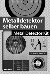 Franzis Verlag Course material Metalldetektor zum Selberbauen 65241 14 years and over 65241 User Manual