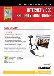 Lorex Digital Video Security System DVM2051P Leaflet