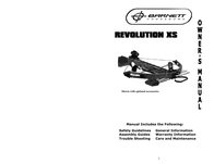 Barnett Crossbows revolution xs User Manual