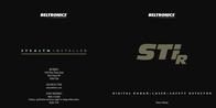 Beltronics STi-R User Manual