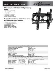 Evermount EM-FT2B Leaflet