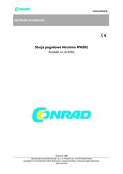 Netatmo NSW01-EC Data Sheet