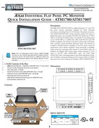 Atlas ATM1700 User Manual