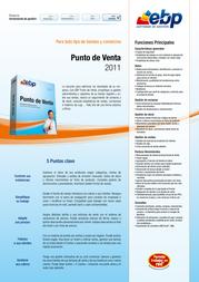 EBP Punto de Venta 2011 8437009975145 Leaflet
