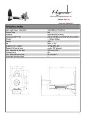 Highgrade AR110 HG-AR110 Leaflet