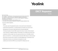 YEALINK NETWORK TECHNOLOGY CO. LTD. RT20U User Manual