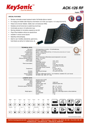 KeySonic ACK-126 RF 18.02.2717 Leaflet